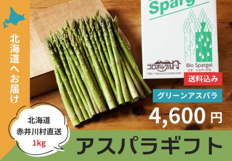 【北海道内へお届け】アスパラギフト